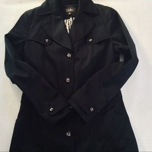 Cole Haan Black Coat Spring/Fall Jacket